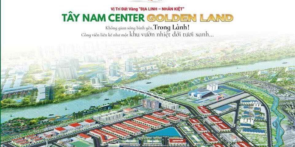 Dự án đất nền khu đô thị Tây Nam Golden Land Long An
