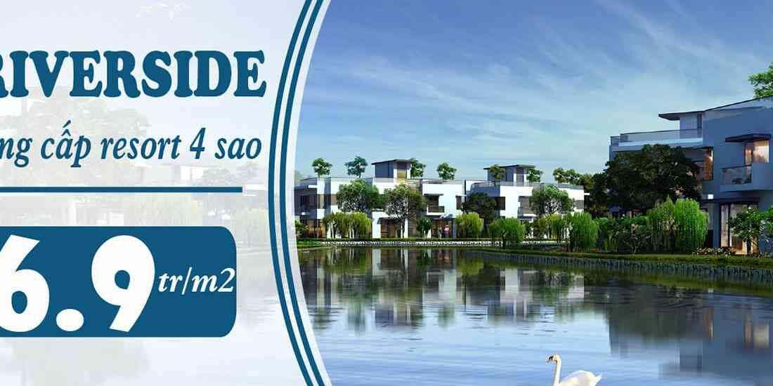 Dự án đất nền khu đô thị xanh Pearl Riverside Đồng Nai - Đất Xanh