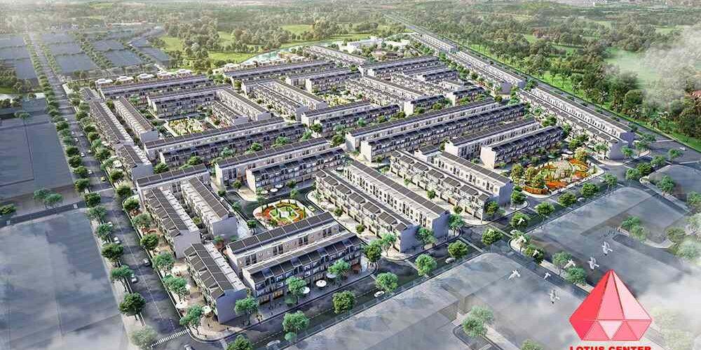 Dự án đất nền nhà phố Lotus Center Nam Phong Quốc Lộ 50 Cần Giuộc