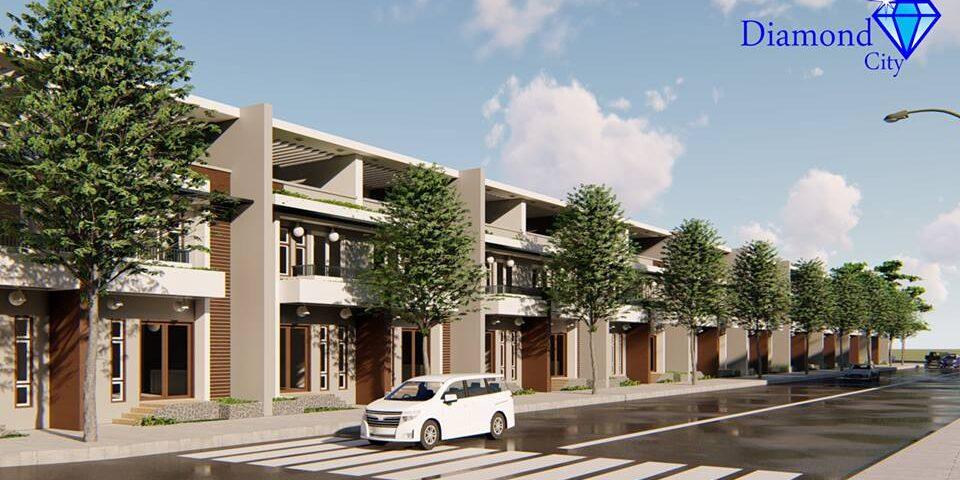 Dự án đất nền nhà phố khu dân cư DIAMOND CITY huyện Củ Chi
