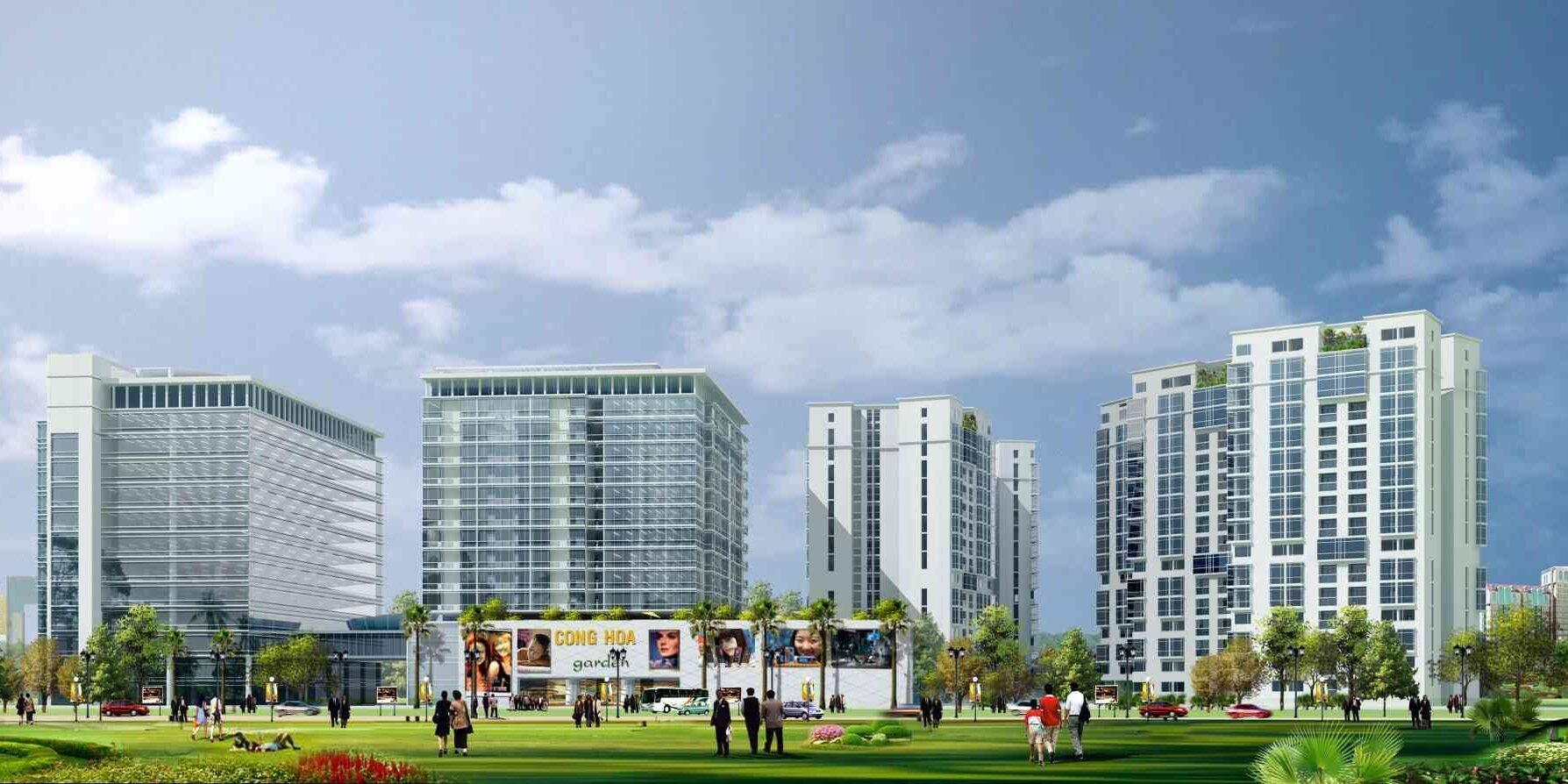 Dự án căn hộ chung cư Cộng Hoà Garden Quận Tân Bình-compressed