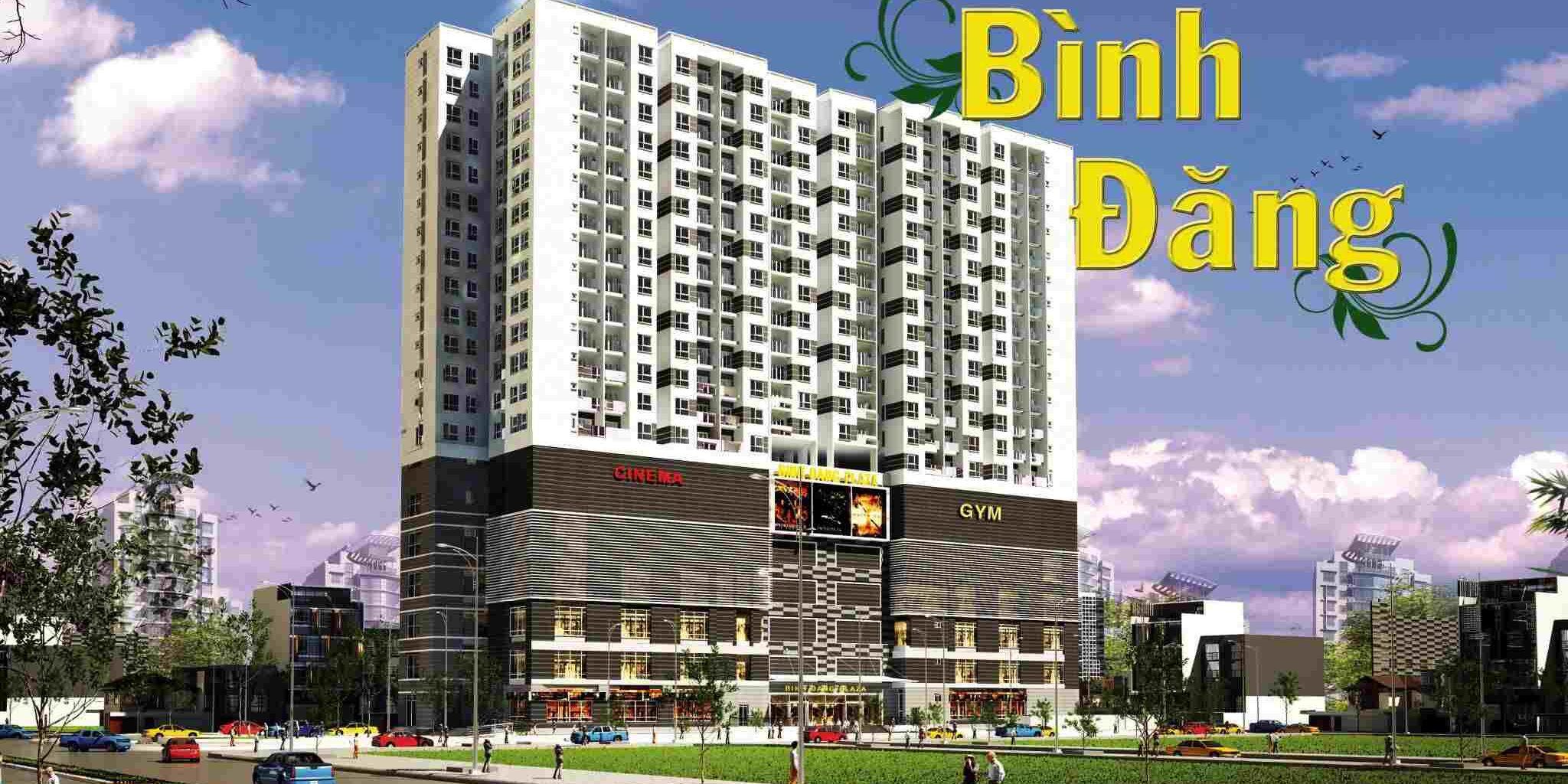 Dự án căn hộ chung cư Khu thương mại Dịch vụ – KIOT Bình Đăng Quận 8