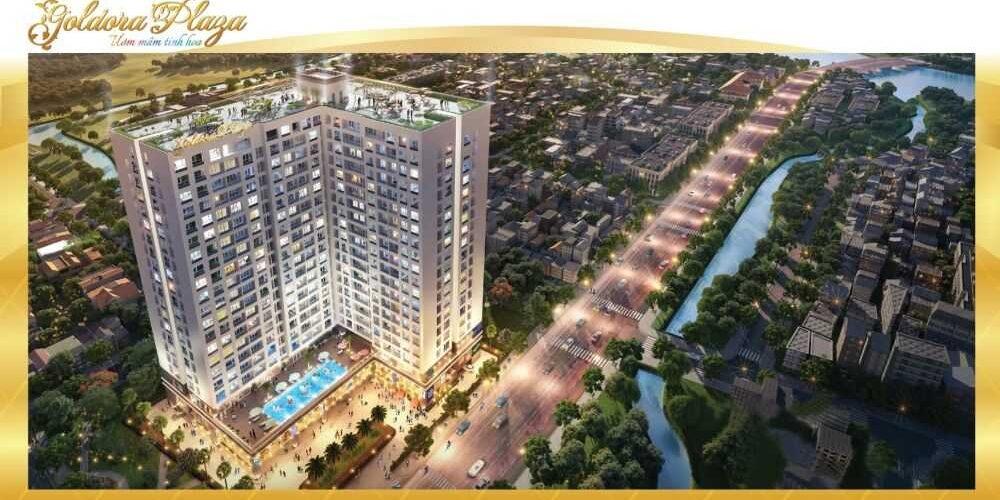 Dự án căn hộ chung cư goldora plaza Lê Văn Lương Nhà Bè