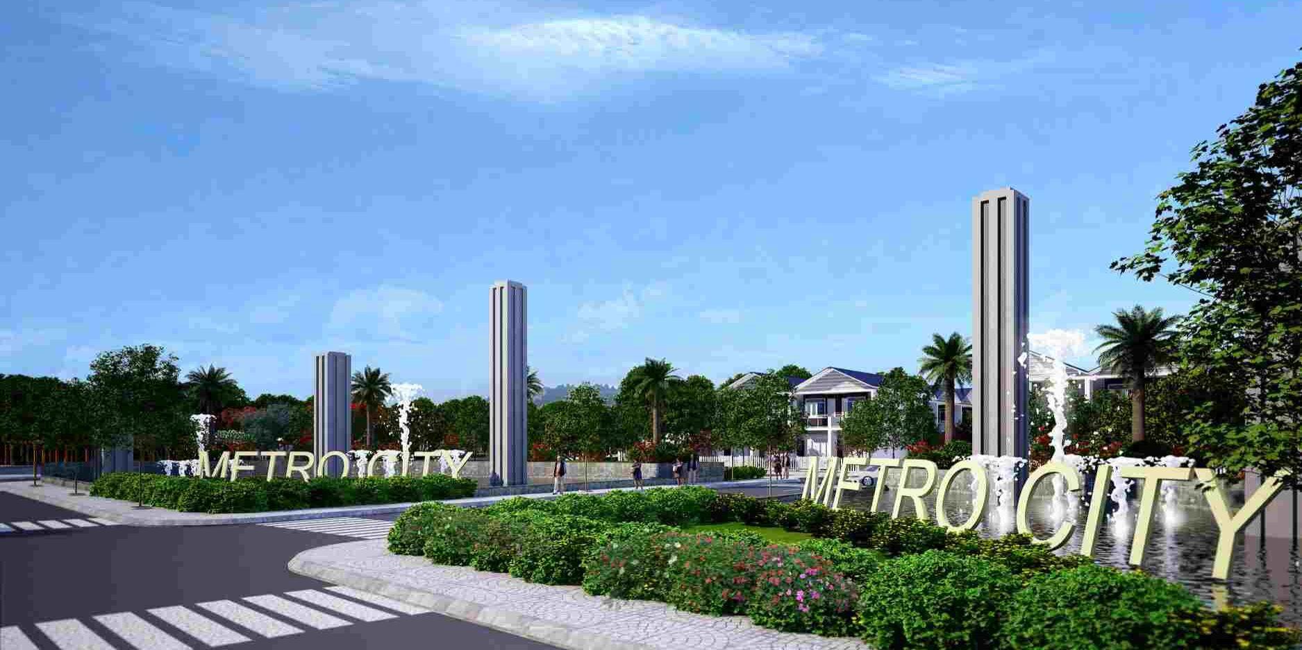 Dự án khu đô thị Metro City Tây Bắc Củ Chi