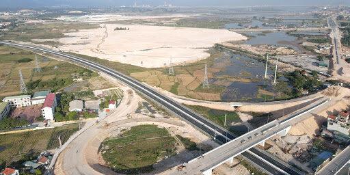 Đường nối KCN Cái Lân qua KCN Việt Hưng. (Ảnh- Báo Quảng Ninh)