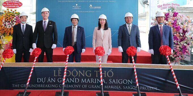 Grand Marina Saigon Lễ động thổ