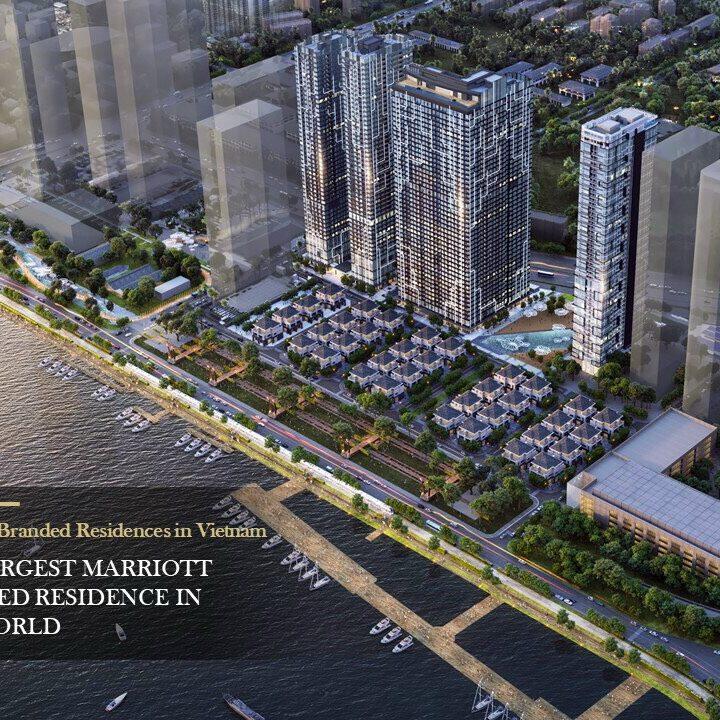 """Grand Marina Saigon - dự án đầu tiên đánh dấu sự hợp tác giữa Masterise Homes và Marriott International tọa lạc tại vị trí """"vàng"""" của quận 1"""