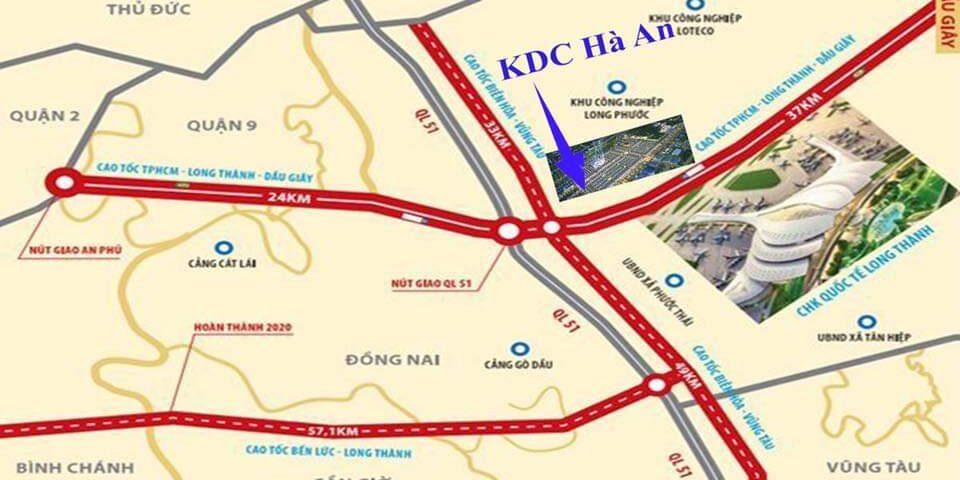 Khu đô thị dân cư Hà An Quốc Lộ 51 Long Thành, Đồng Nai | Đất Xanh Group