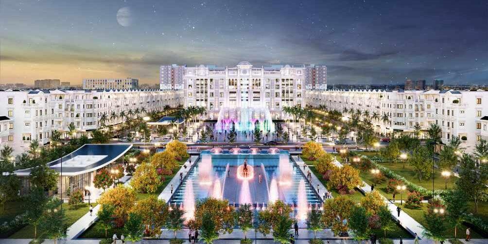 Khu thương mại tọa lạc tại vị trí đối diện quảng trường nhạc nước Hòa Bình Square tạo nên một tổ hợp giải trí, mua sắm, hội nghị đỉnh cao