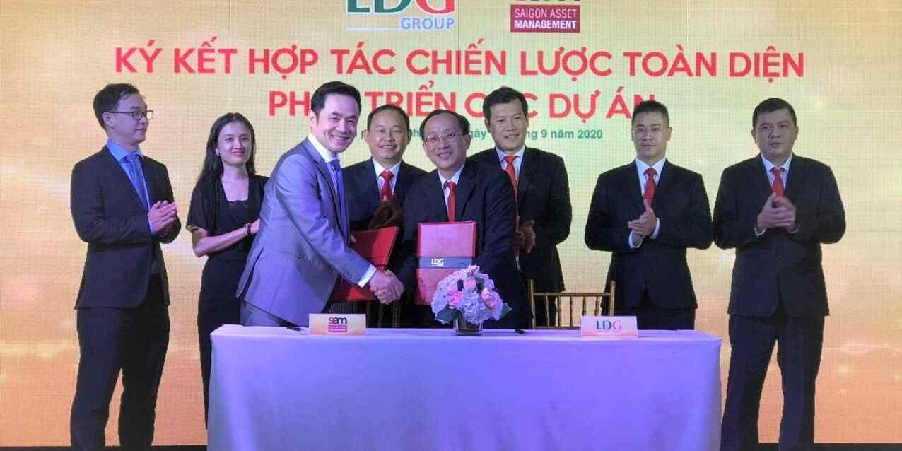 LDG kỳ vọng ký kết hợp tác chiến lược toàn diện với tập đoàn quản lý quỹ đầu tư SAM
