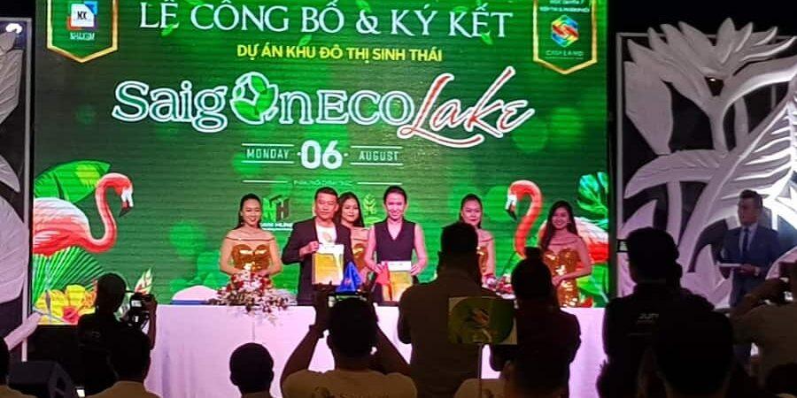 Lễ ra quân và ký kết công ty phân phối dự án Saigon Eco Lake