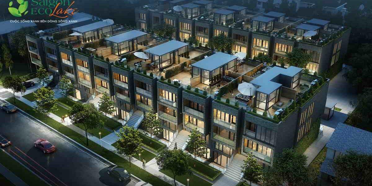 Mẫu nhà phố liền kề Saigon Eco Lake
