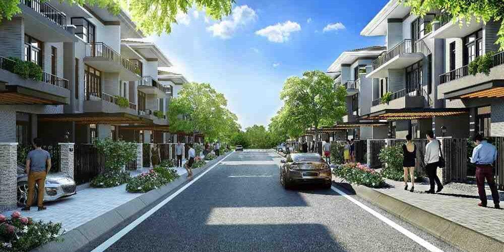 70 Căn nhà phố thương mại Eco House ngã tư Xoài Đôi,Cần Đước,Long An năm  2018 | Thuận Hùng Group