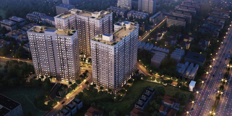 Nhà ở xã hội Bình Tân Căn hộ đường Kinh Dương Vương được Nhà Nước ưu đãi về thuế đất, VAT chỉ 5%