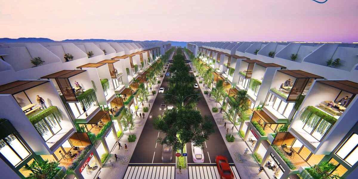 Nhà phố biển Dự án KN paradise Cam Ranh