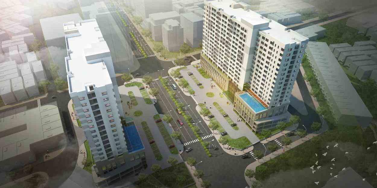 Phối cảnh Dự án căn hộ Flora Novia Phạm Văn Đồng Thủ Đức - Nam Long Group