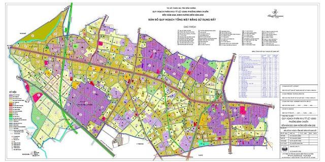 Quy hoạch thị xã Thuận An, Bình Dương