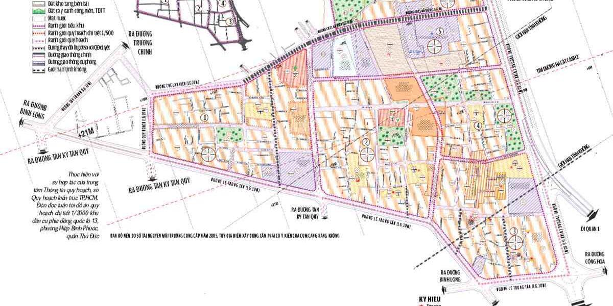 Quy hoạch xã Tân Phú Tây huyện Bình Chánh
