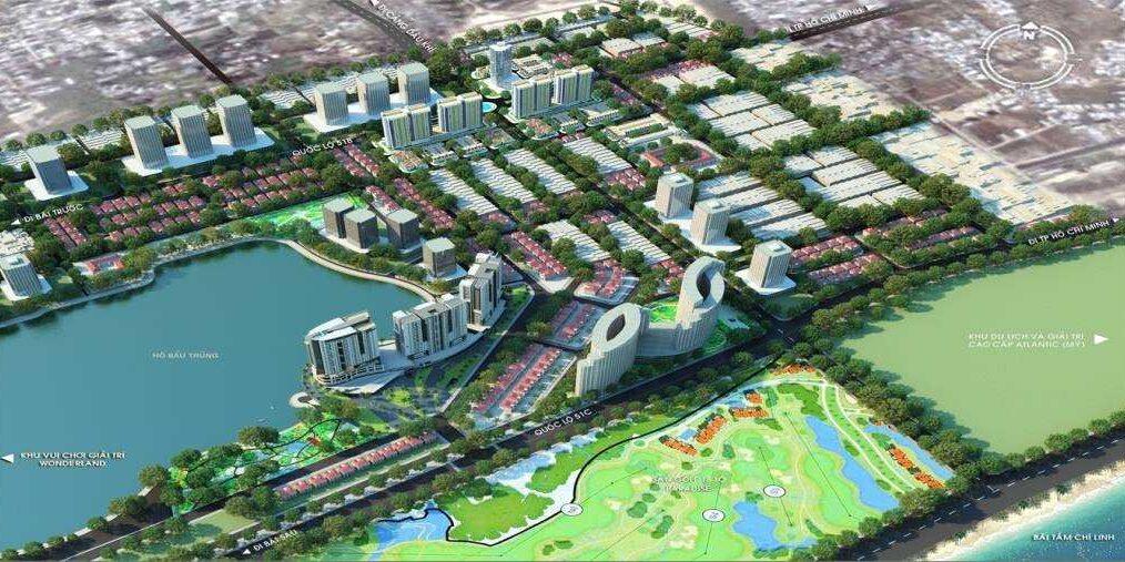 Quy mô Dự án đất nền khu đô thị Đông Bình Dương