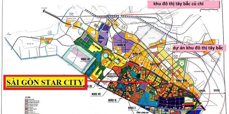 Saigon Star City - Vị trí Dự án Saigon Star City Quốc Lộ 22 Củ Chi
