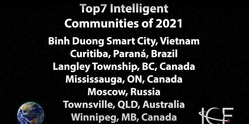 Smart21 - Đại diện Việt Nam, Bình Dương tiếp tục là thành phố thông minh tiêu biểu Thế Giới...
