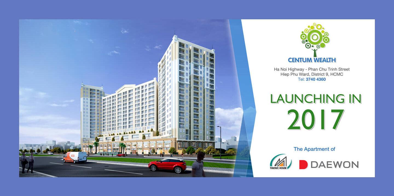Tổng thể dự án căn hộ chung cư cao cấp Centum Wealth