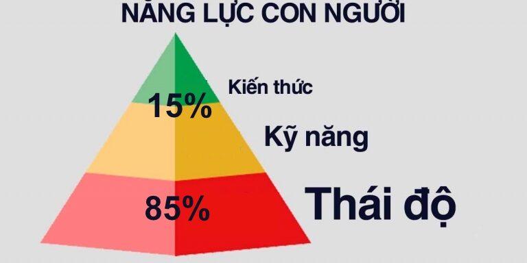THG - Thái độ chiếm 85%