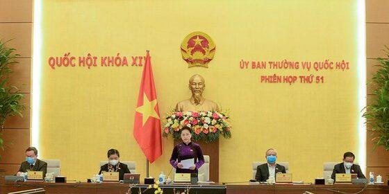 Tại phiên họp thứ 51, Ủy ban Thường vụ Quốc hội vừa thông qua Nghị quyết thành lập TP Thủ Đức thuộc TPHCM