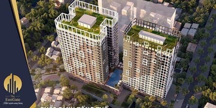 The East Gate Kim Oanh - Phối cảnh tổng thể dự án căn hộ chung cư