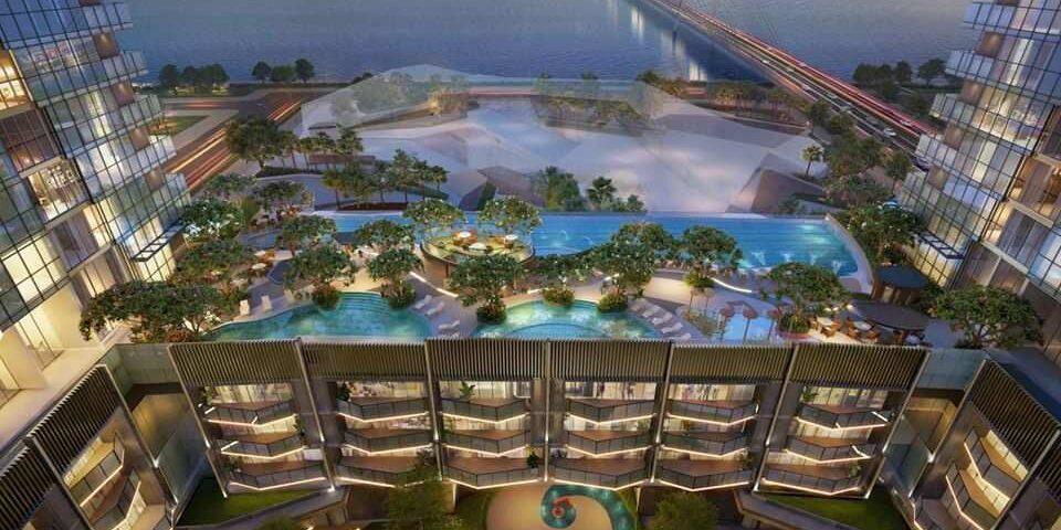 The Opera Residences - Hồ bơi