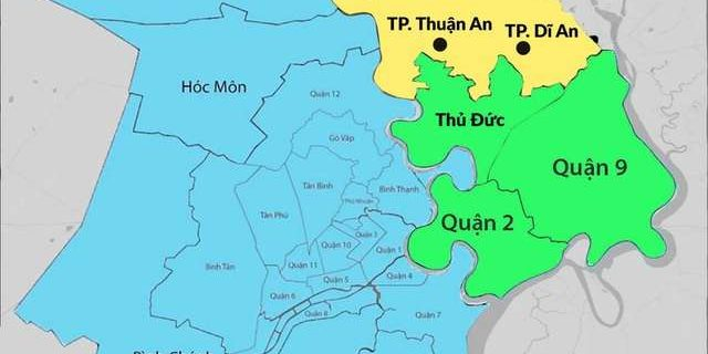 """Thuận An và Dĩ An có nhiều lợi thế để trở thành đô thị vệ tinh của """"thành phố Thủ Đức"""""""
