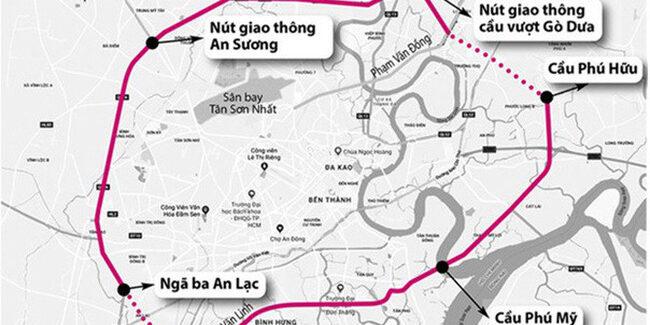 Vành Đai 2 - Dự án đường đại lộ trọng điểm của TP.HCM và các tỉnh lân cận