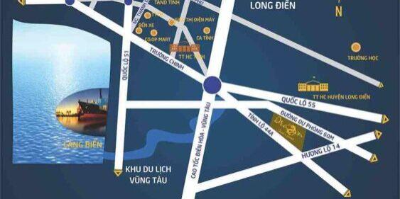 Vị trí Tiện ích dự án Dragon Center Point Bà Rịa Vũng Tàu