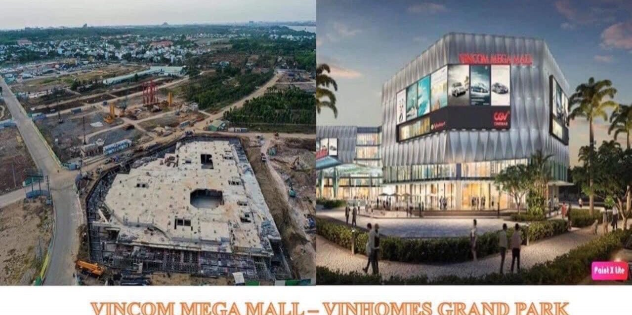 Vincom Mega Mall Quận 9 - Vinhomes Grand Park
